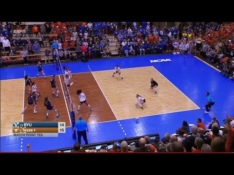 BYU v Texas, 12/09/2016 Women's Volleyball Regional Semifinal Match