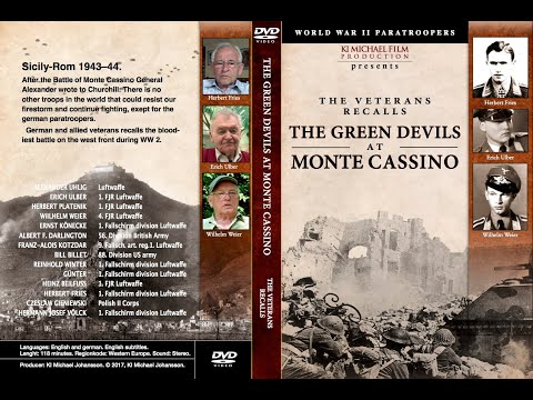 THE GREEN DEVILS AT MONTE CASSINO.