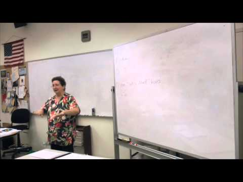 Broward College North Campus | Massage Therapy | Sandra Stone Aug 25 Lecture