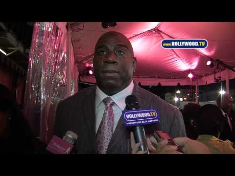 Magic Johnson Represents at 10th Annual Heroes In The Struggle Gala