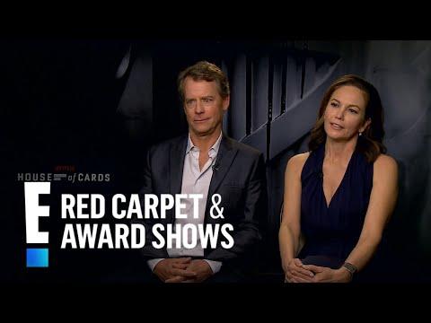 """Diane Lane & Greg Kinnear Share """"House of Cards"""" Secrets   E! Red Carpet & Award Shows"""