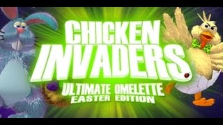 Chicken Invaders 4 - Easter Edition (Full Gameplay)