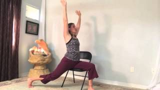 Gentle Chair Yoga practice