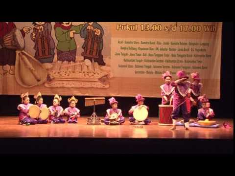 KEPULAUAN RIAU - Festival Nasional Musik Tradisi Anak-Anak 2014 by MAM EO