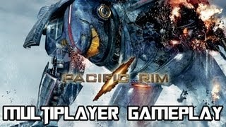 Pacific Rim The Video Game - Multiplayer Gameplay - Knifehead Vs. Gipsy Danger