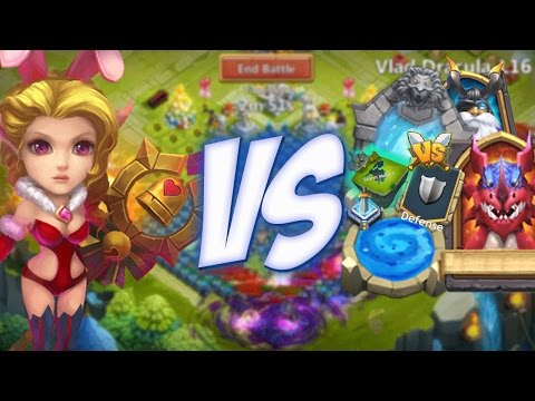 Castle Clash Candy Kane Gameplay (Montage)