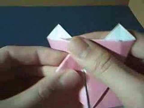 origami pig head - YouTube - photo#23