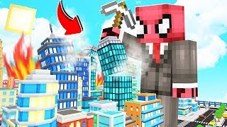 FAKİR DEV OLUP ŞEHRİ YIKTI! 😱 - Minecraft