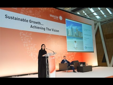 Sustainable Growth- Achieving the Vision by Her Excellency Razan Al Mubarak (2014)