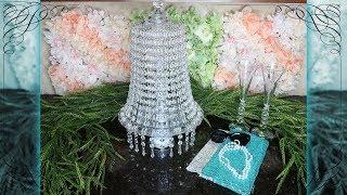 Dollar Tree Lighted Chandelier 2.0   Breakfast at Tiffany's Inspired