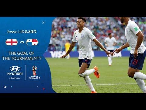 Jesse LINGARD Goal -  England V Panama - MATCH 30