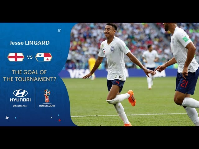 Jesse LINGARD goal vs Panama   2018 FIFA World Cup   Hyundai Goal of the Tournament Nominee