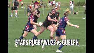Tropical 7s 2019: Stars Rugby WU23 vs Guelph