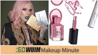 Jeffree Star Shows FULL Holiday Collection! Kathleen Reveals NEW KL Polish Shade! | Makeup Minute