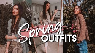 WHAT I WORE IN A WEEK   Spring 2019 Outfit Ideas & Inspiration