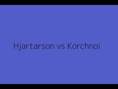 Famous Chess Game: Hjartarson, J. vs Korchnoi, V. | Saint Jo