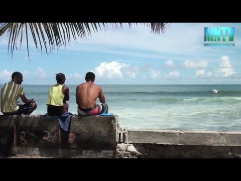 Basse-pointe : lieu incontournable du surf en Martinique