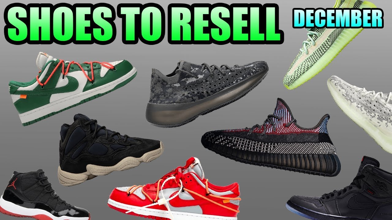 Most Hyped Sneaker Releases December