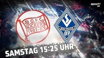 ReLIVE 🔴 | Kickers Offenbach - Waldhof Mannheim | Regionalliga Südwest | SPORT1