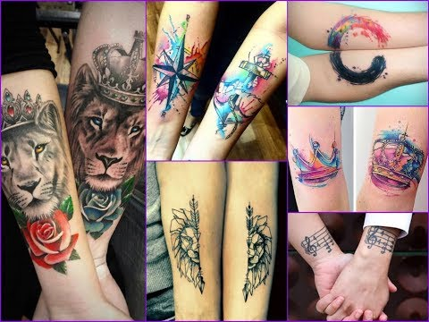 50 Beautiful Couple Tattoo Designs Ideas