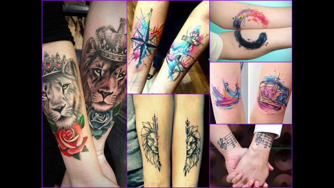 50+ Beautiful Couple Tattoo Designs Ideas - YouTube