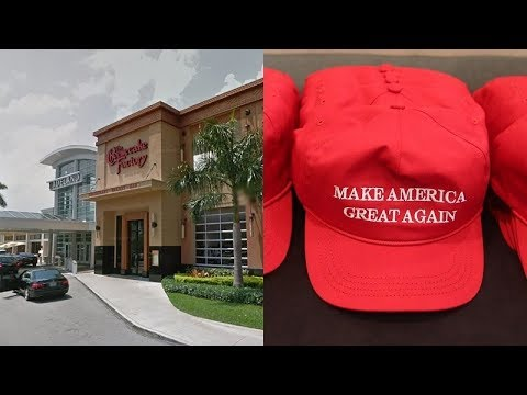 bb33c418f4f Trump supporter attacked at Cheesecake Factory over MAGA hat report ...