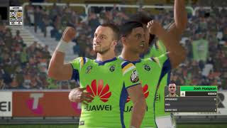Rugby League live 4: Career  mode Pro: round 3 Tigers v Raiders