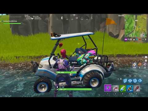 Fortnite   How To Do The Time Trial, Tomato Town Location