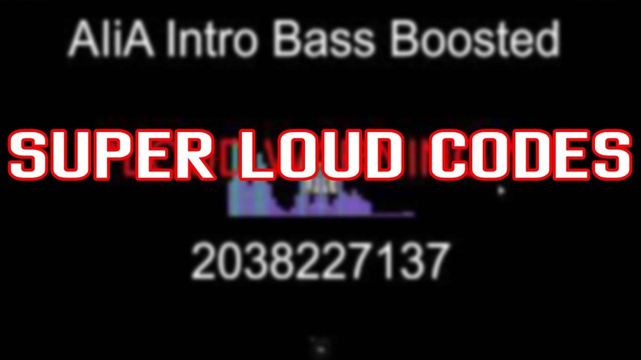 super loud roblox song codes october