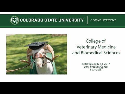 College of Veterinary Medicine and Biomedical Sciences Commencement - Colorado State University