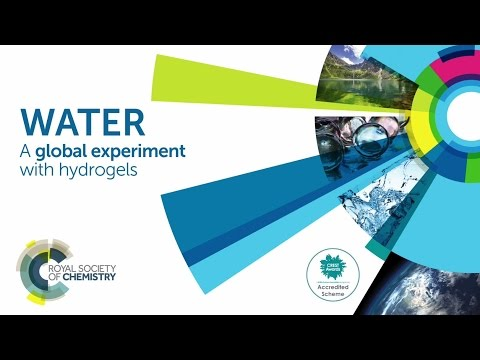 Water - a global experiment with hydrogels