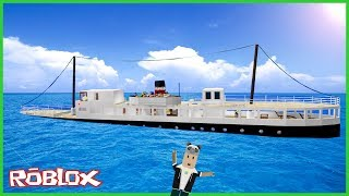 The sinking of the ship over the top few-Roblox Crash Survival
