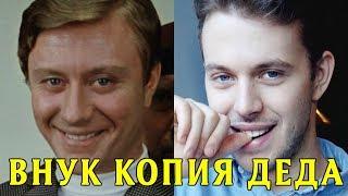Внук Андрея Миронова вырос его копией