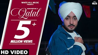 Qatal   Manavgeet Gill   Gurlez Akhtar   Rashalika   Mista Baaz, Kanji Porh   New Punjabi Songs 2021