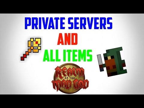 Rotmg: Private Servers & All Items (2017) ONLINE