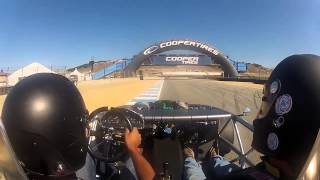 Blackbox Motorsport Exocet in-car at Laguna Seca MRLS 2014 Sunday session
