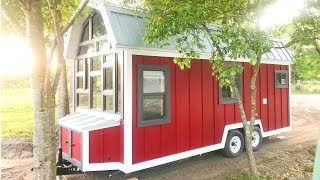 Incredible The Award Winning Tiny House - Barn Model | Living Design For A Tiny House