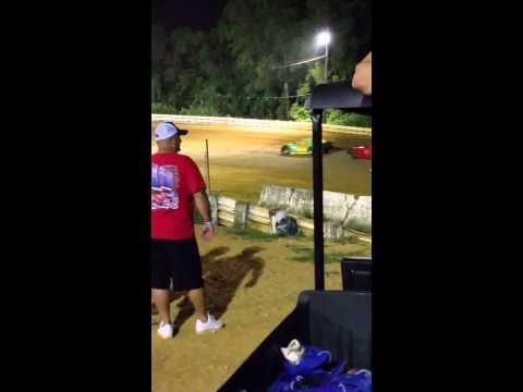 Potomac Speedway Street Stock Mike Latham 7/24/15