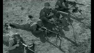 Machine Gun Comparison -- U.S. .30 caliber vs. German MG-34 and MG-42