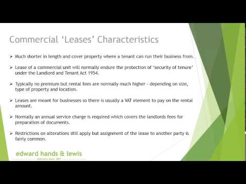 Should I lease or purchase my commercial property