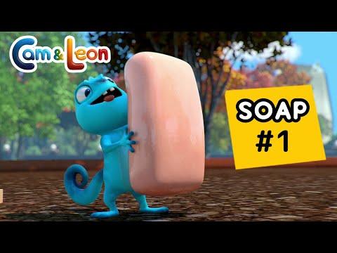 Hilarious Children Cartoon | Soap | Cam & Leon