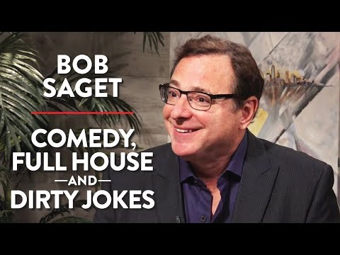 Bob Saget on Comedy, Full House, and Dirty Jokes Pt. 1