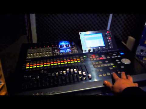 KORG D32XD multitrack recorder