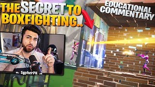 "HOW TO Box Fight Like A Pro! ""Secret Tips and Tricks"" (Fortnite - Educational Commentary)"