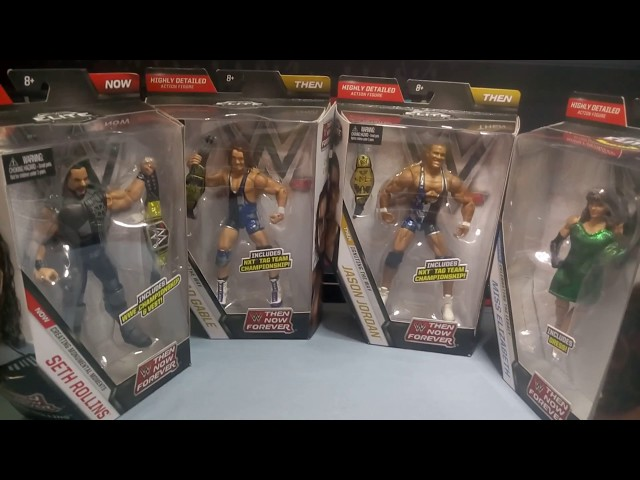 WWE Mattel Then Now Forever Elite Series 3 - Full Set Unboxing and In-Depth Reviews!