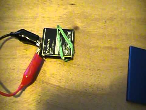 Cell Phone Battery Charging Youtube