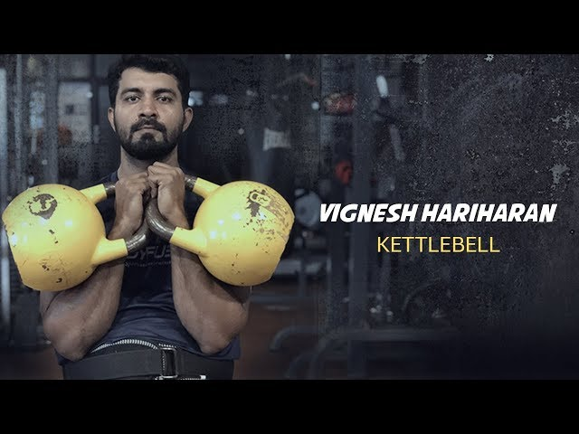 Vignesh Hariharan - Kettlebell Champion and Personal Trainer
