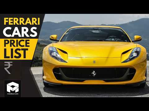 Ferrari Cars Price List [2018]
