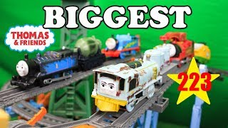 BIGGEST THOMAS AND FRIENDS THE GREAT RACE #223 TrackMaster Thomas Train|Thomas & Friends Toys