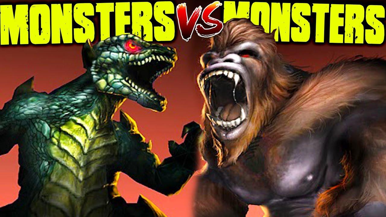 KONG & GODZILLA TEAM UP, BEST MONSTER GAME EVER - War of ...